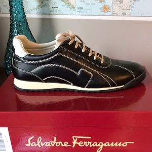 "Salvatore Ferragamo ""Lucia"" sport Shoes 10AA EUC"
